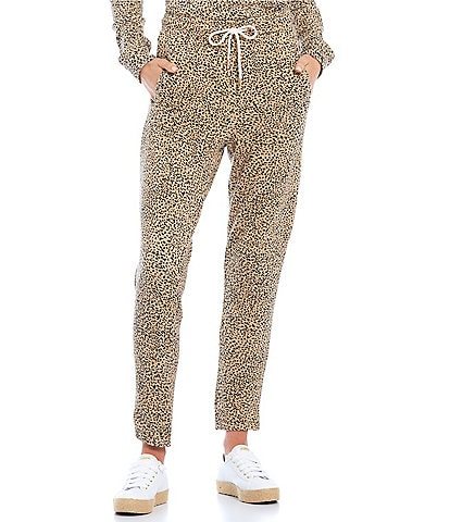 Volcom Coordinating Animal Print Lil Fleece Pants
