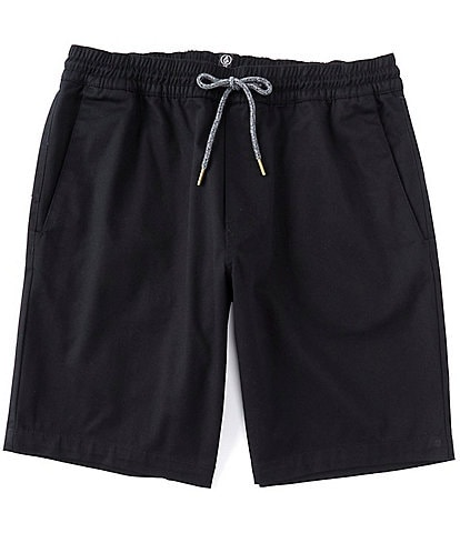 Volcom Frickin Elastic Waist 19#double; Outseam Shorts