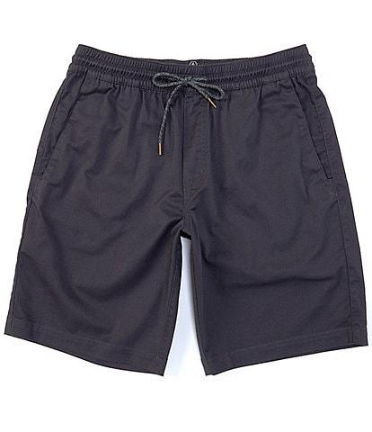 Volcom Frickin Elastic Waist 19#double; Outseam Shorts