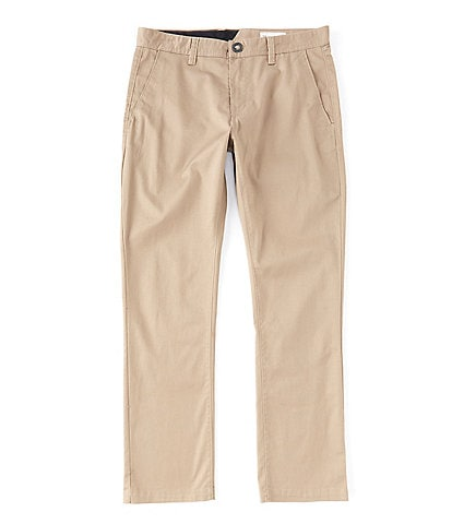 Volcom Frickin Modern Stretch Flat-Front Pants