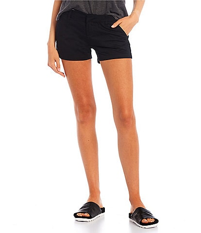 Volcom Mid-Rise Frochickie Classic Chino Shorts