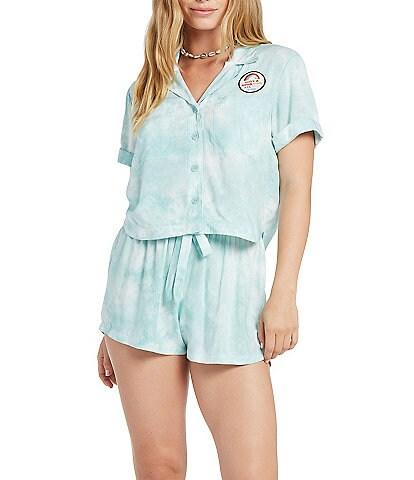 Volcom OBX Netflix Outer Banks Coordinating Tie-dye Print Sarah Shirt