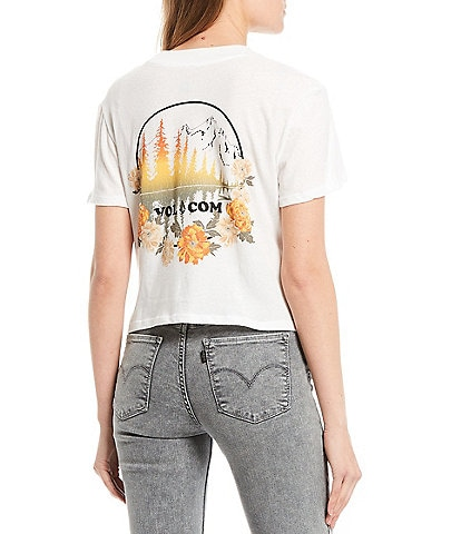 Volcom Short-Sleeve Volcation Mountain Graphic Pocket Tee