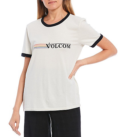 Volcom Truly Ringer Sustainable Organic Cotton Graphic Tee