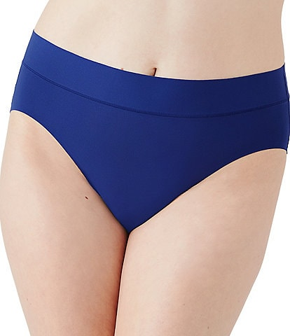 Wacoal At Ease Hi-Cut Microfiber Panty