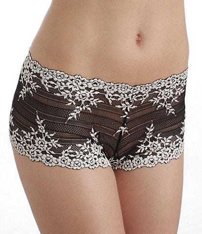 Wacoal Embrace Lace Boy Short Panty