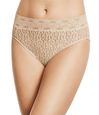 Wacoal Halo Floral Lace Hi-Cut Brief Panty