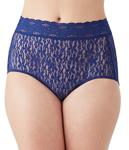 Wacoal Lace Print Halo Brief
