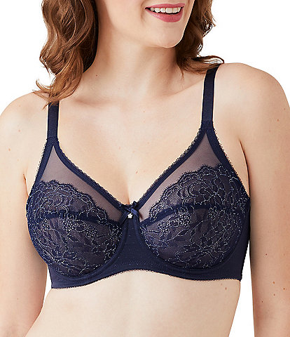 Wacoal Retro Chic Full-Busted Lace Underwire Bra
