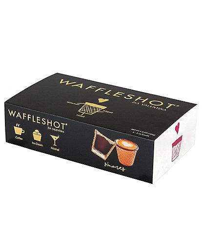 Waffleshot S'Mores Edible Coffee Cups