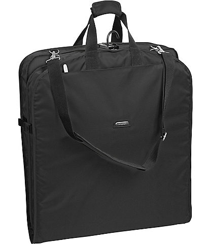 Wally Bags 42#double; Garment Bag with Two Pockets and Shoulder Strap