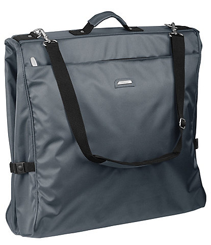 Wally Bags 45-inch Framed Garment Bag with Shoulder Strap and Multiple Accessory Pockets