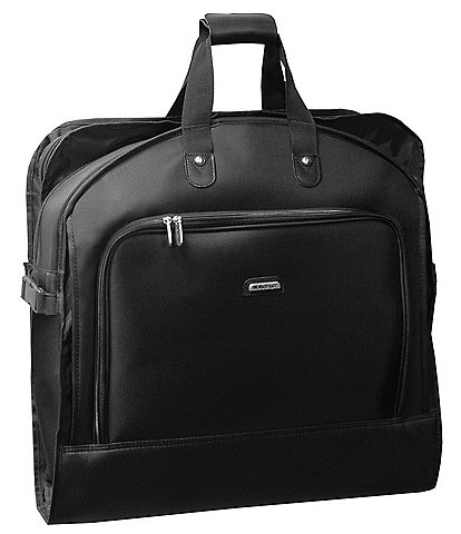 Wally Bags 45-inch Deluxe Multi-Feature Garment Bag with Shoulder Strap and Accessory Pockets