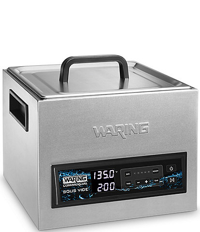 Waring Commercial 16L Thermal Sous Vide Circulator Stainless Steel Integrated Water Bath