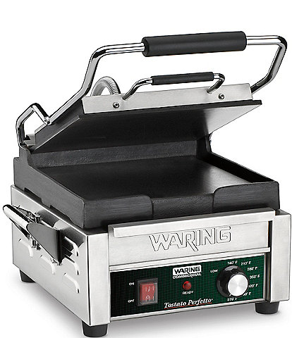Waring Commercial Electric Tostato Perfetto Compact Italian-Style Flat Grill