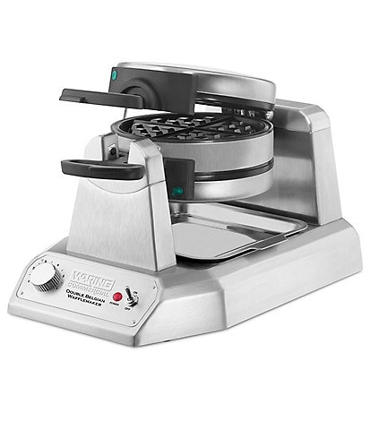 Waring Commercial Non-Stick Double Vertical Belgian Waffle Maker