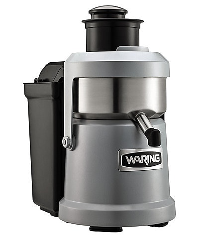 Waring Commercial Pulp Heavy Duty Centrifugal Pulp Eject Juicer Extractor with 1.2 HP Brushless Induction Motor, 120V