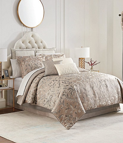Waterford Andria Floral Damask Comforter Set
