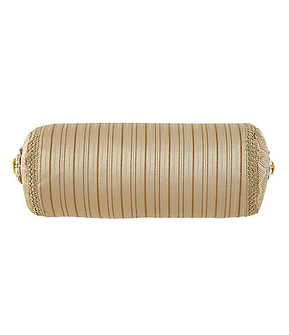 Waterford Anya Striped Neckroll Pillow