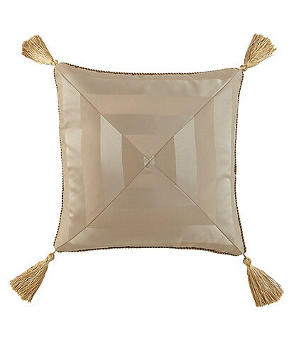 Waterford Anya Tasseled Square Pillow