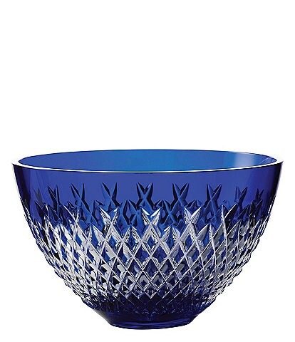 Waterford Crystal Alana Blue Bowl, 8#double;