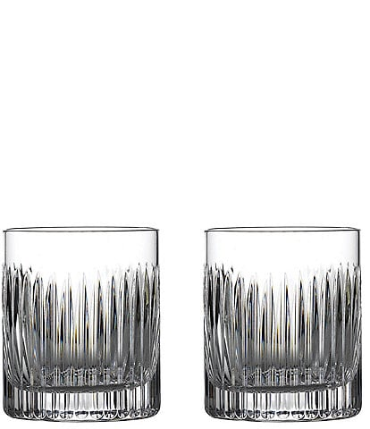 Waterford Crystal Aras Double Old-fashion Glasses, Set of 2