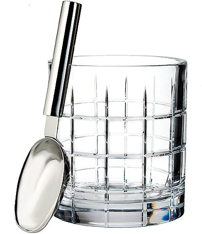 Waterford Crystal Cluin Ice Bucket with Scoop