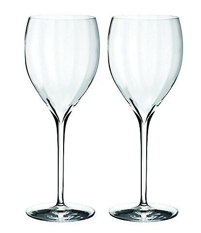 Waterford Crystal Elegance Optic Sauvignon Blanc Stemware, Set of 2