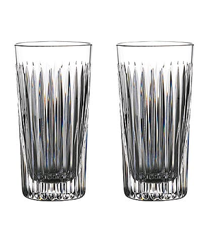 Waterford Crystal Gin Journeys Aras Highball Glasses, Set of 2