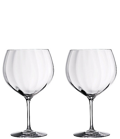 Waterford Crystal Gin Journey's Elegance Optic Balloon Glasses, Set of 2