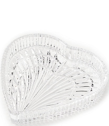 Waterford Crystal Heart Tray, 7.5#double;