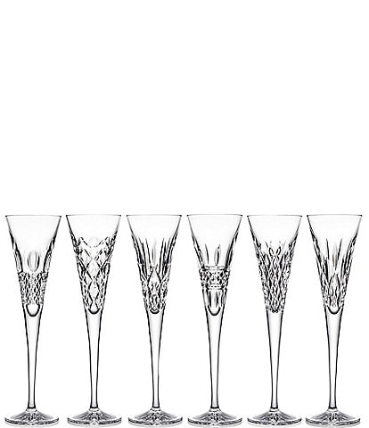 Waterford Crystal Heritage Flutes Set of 6