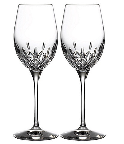 Waterford Crystal Lismore Essence White Wine Glasses, Set of 2