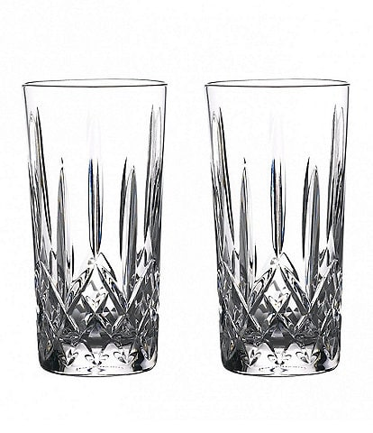 Waterford Crystal Lismore Journeys Gin Highball Glasses, Set of 2