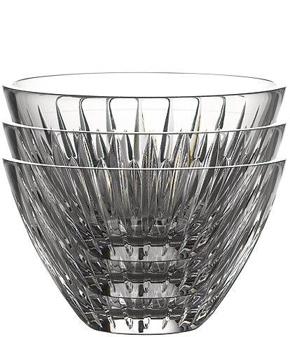 Waterford Crystal Mara Stackable Bowls, Set of 3