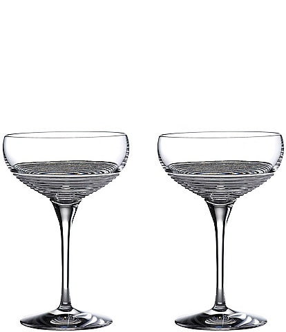 Waterford Crystal Mixology Circon Large Coupe Glasses, Set of 2
