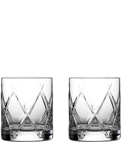 Waterford Crystal Olann Double Old-Fashion Glasses, Set of 2