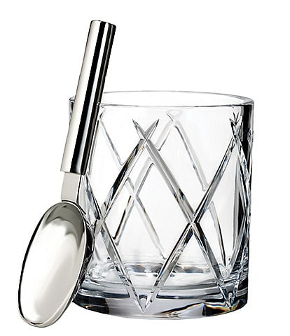 Waterford Crystal Olann Ice Bucket with Scoop