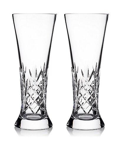 Waterford Crystal Tidmore Beer Glass Pair
