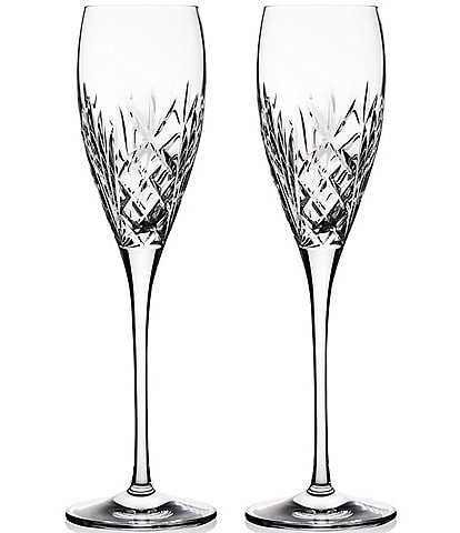 Waterford Crystal Tidmore Flute Pair