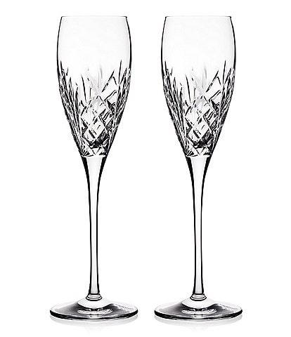 Waterford Crystal Tidmore Flute Pair