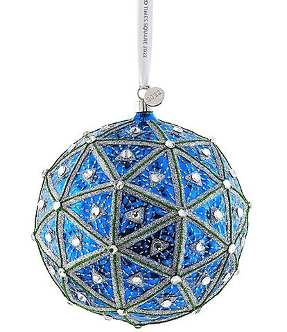 Waterford Crystal Times Square 2022 Masterpiece Ball Ornament