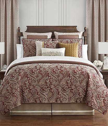 Waterford Danehill Red Reversible Comforter Set