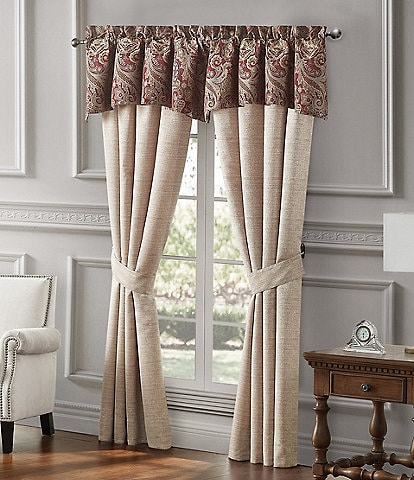 Waterford Danehill Red Window Treatments
