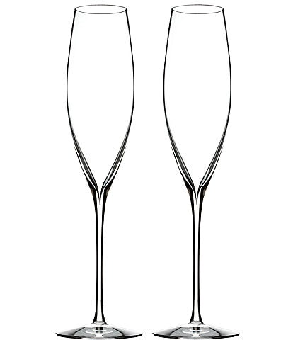c1753423991 Waterford Elegance Collection Classic Crystal Champagne Flute Pair