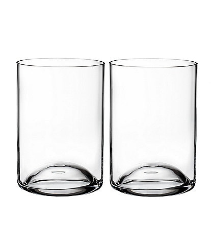Waterford Elegance Crystal Double Old Fashioned Glasses, Set of 2