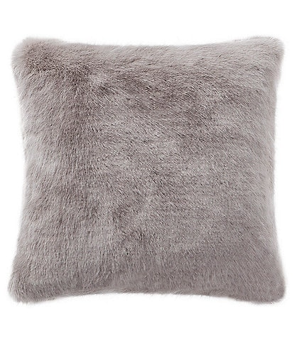 Waterford Florence Faux Fur Square Pillow
