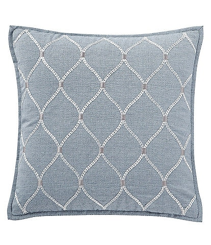 Waterford Florence Oggi Embroidered Square Pillow