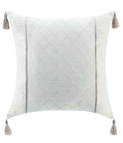 Waterford Forli Ogee & Tasseled Square Pillow