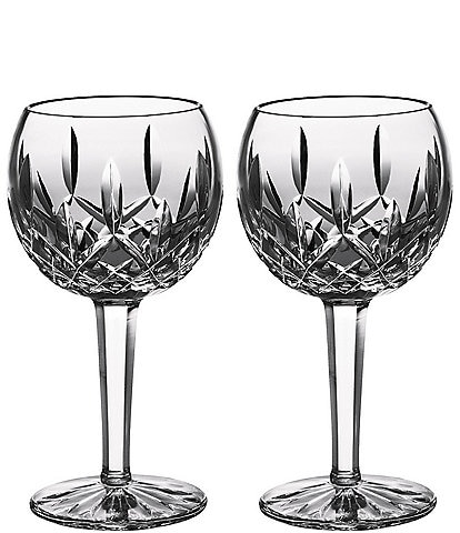 Waterford Lismore Classic Balloon Wine Glass Pair
